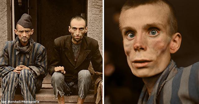 Мои 10 цветных фото, которые показывают весь ужас Холокоста