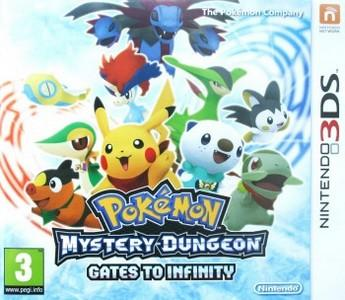 Rom Pokemon Mystery Dungeon Gates to Infinity 3DS