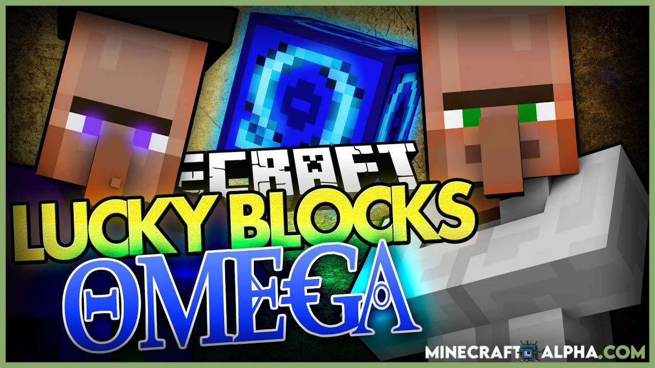 New Lucky Block Omega Minecraft