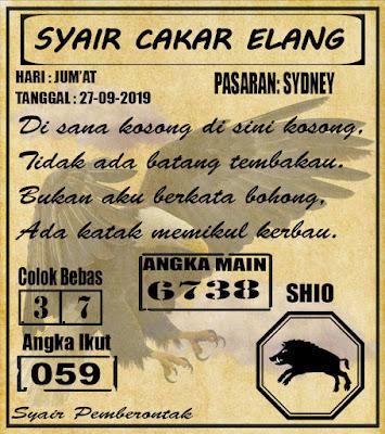 SYAIR SYDNEY  27-09-2019