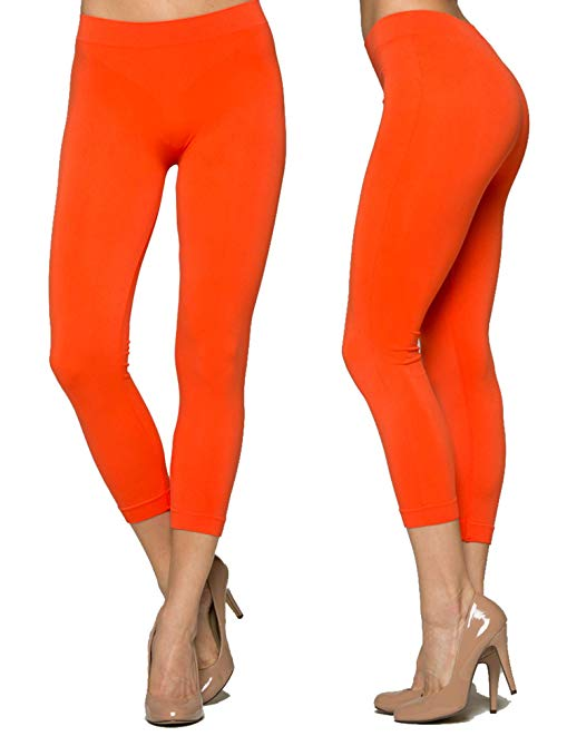AMAZON - 75% Off   Womens Capri Leggings