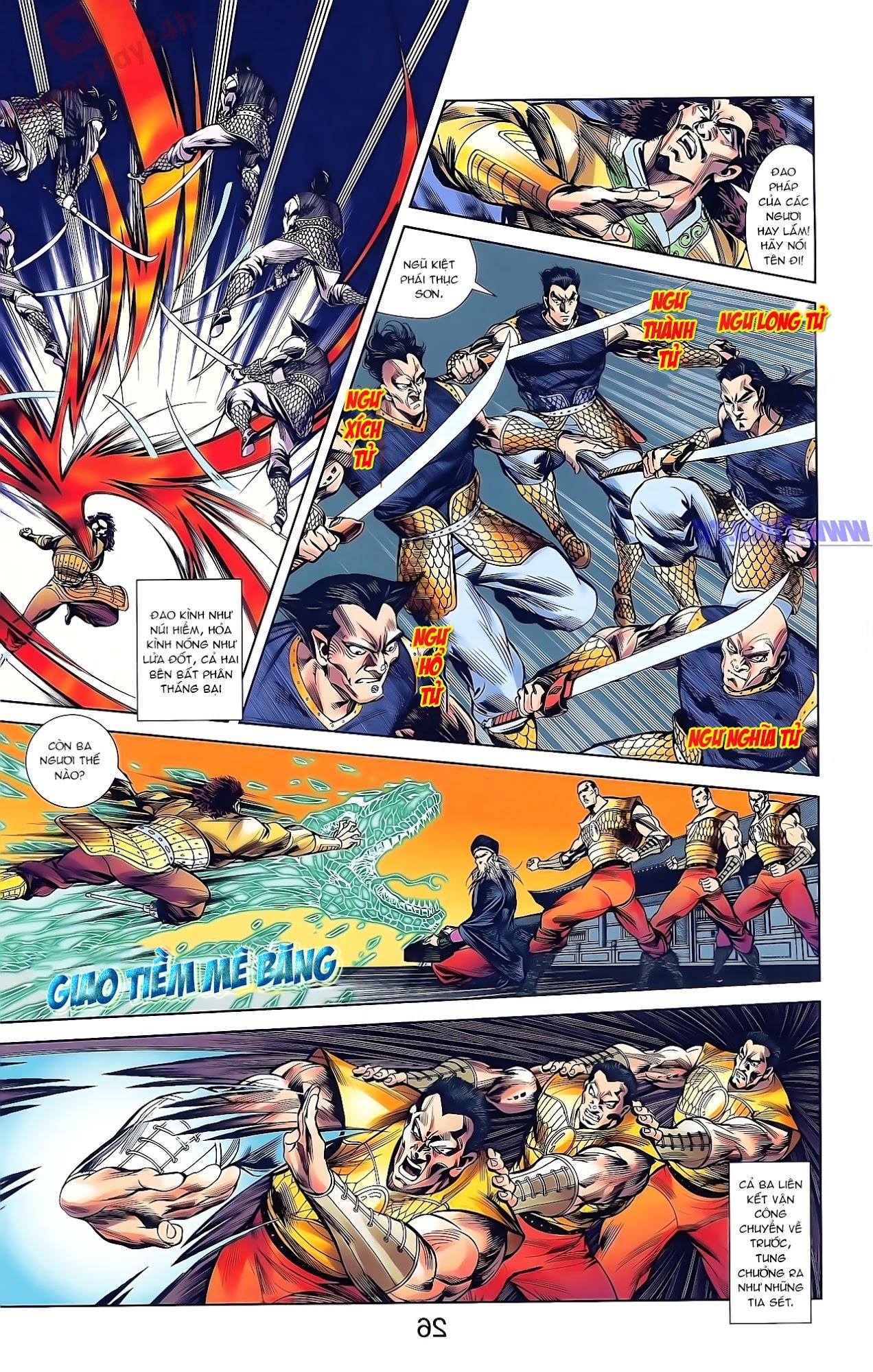 Tần Vương Doanh Chính chapter 43 trang 27