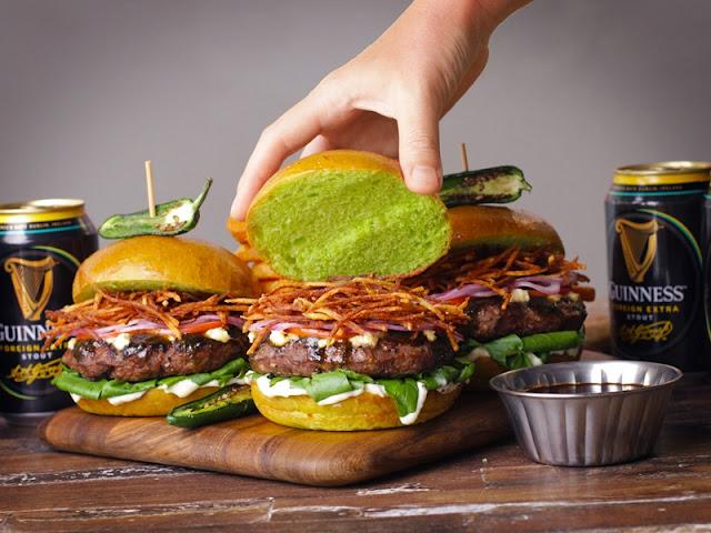 Burger platter - MyBurgerLab x Tipsy Boar