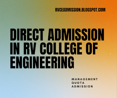 Direct Admission in RV College of Engineering 2020