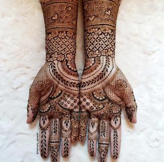 New simple henna design
