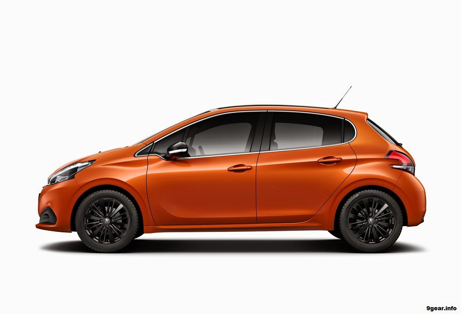 peugeot 208 gets 2015 updates and a 94mpg diesel car reviews new car pictures for 2018 2019. Black Bedroom Furniture Sets. Home Design Ideas