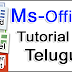 Ms Office in Complete Telugu | Word, Excel, PowerPoint