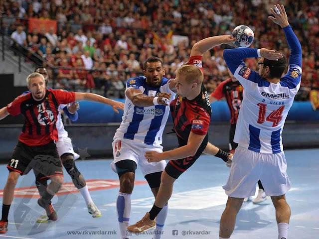 Handball CL: Vardar besiegt Porto nach Anlaufschwierigkeiten