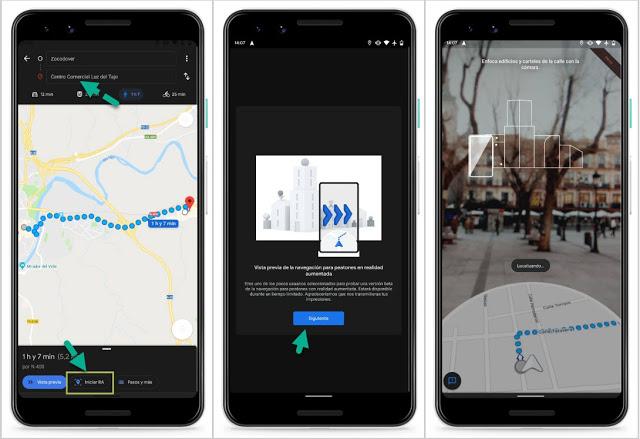 غوغل تأخدكم إلى الخيال ولن تضيع طريقك بعد الآن : كيفية استخدام تطبيق خرائط غوغل بالواقع المعزز الجديد