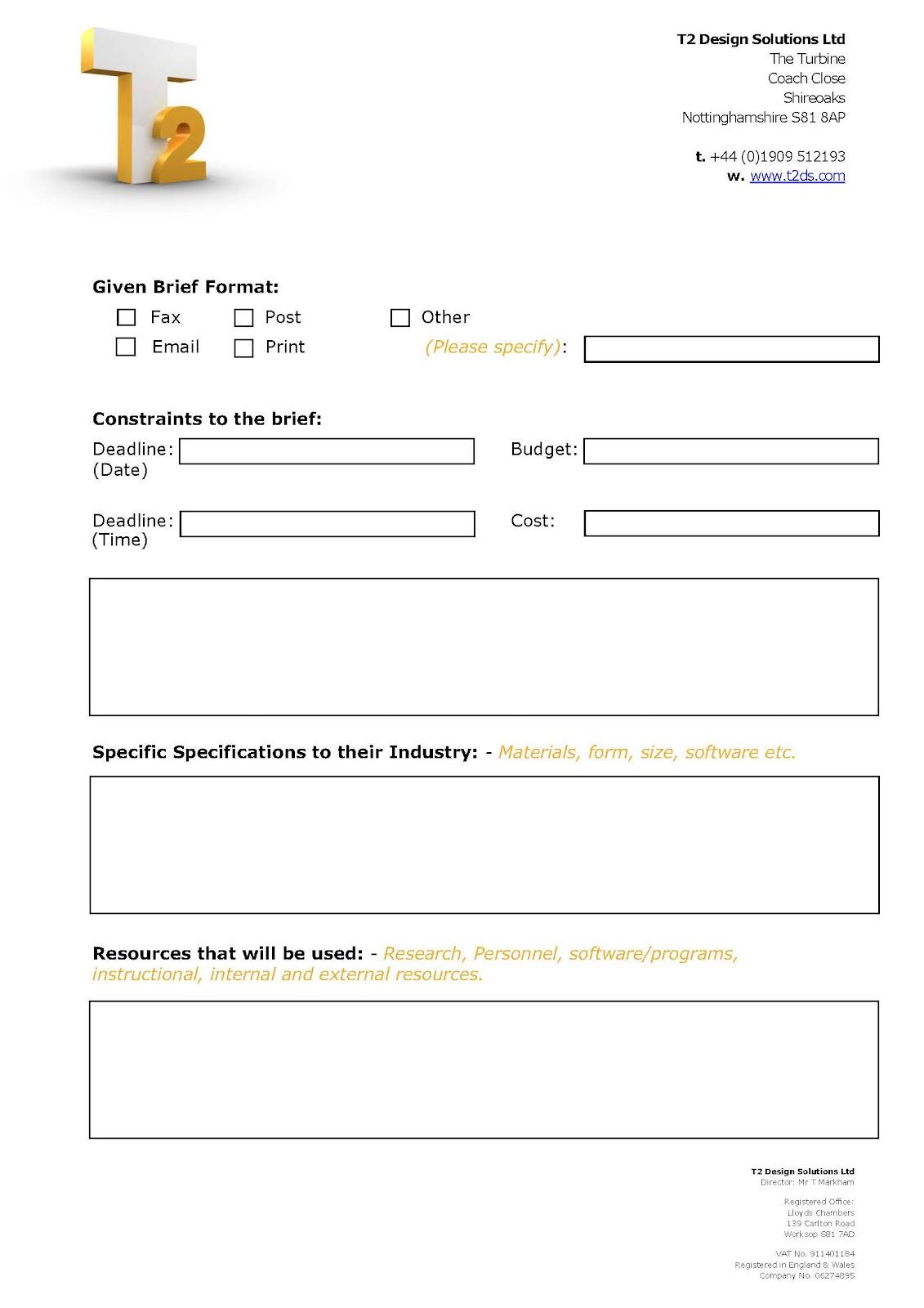 Beckyfieldst2 Design Brief Full Versiontemplate