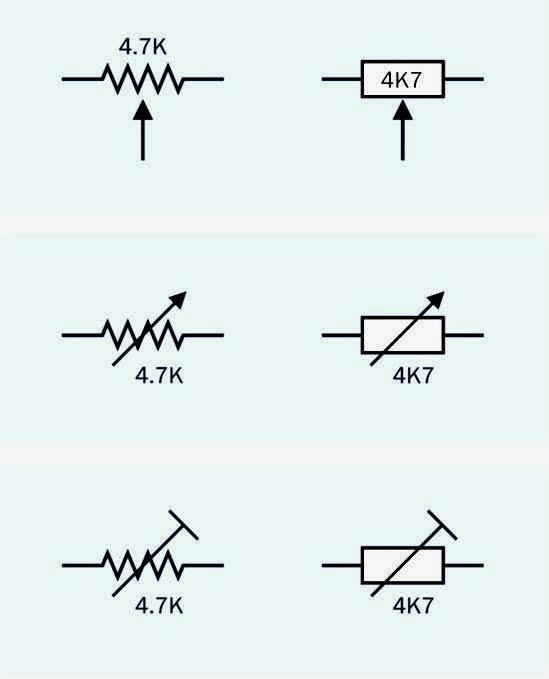 electrical schematic symbols q
