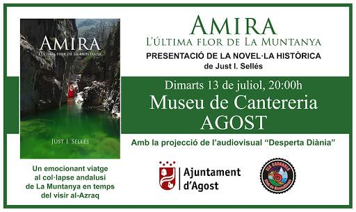 13/07/21 - Presentació llibre al Museu de Canterería