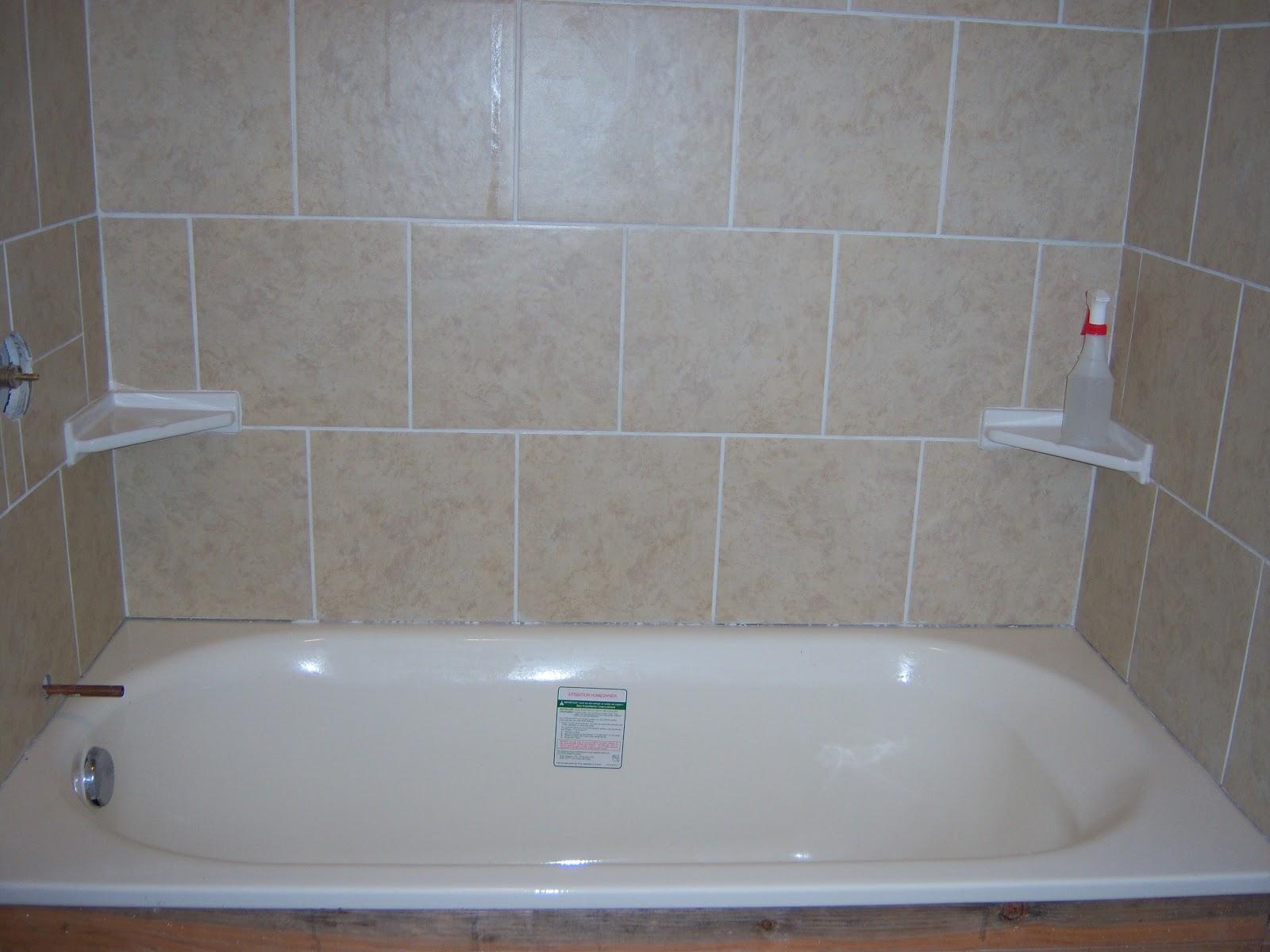 Kott In The Garden Diy Tile Shower Tub Surround