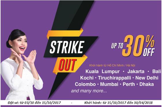 Vé máy bay đi Kuala Lumpur hãng Malindo Air chỉ từ 54 USD