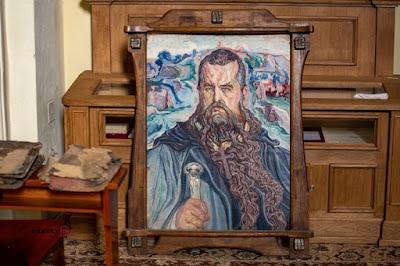 Робта Олекси Новаківського, знайдена на смітнику. Фото: Ольга Коваль