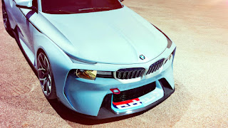 The BMW 2002 Hommage Concept