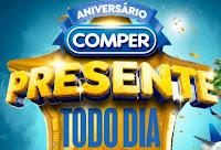 Aniversário Comper Presente Todo Dia 2021 aniversariocomper.com.br