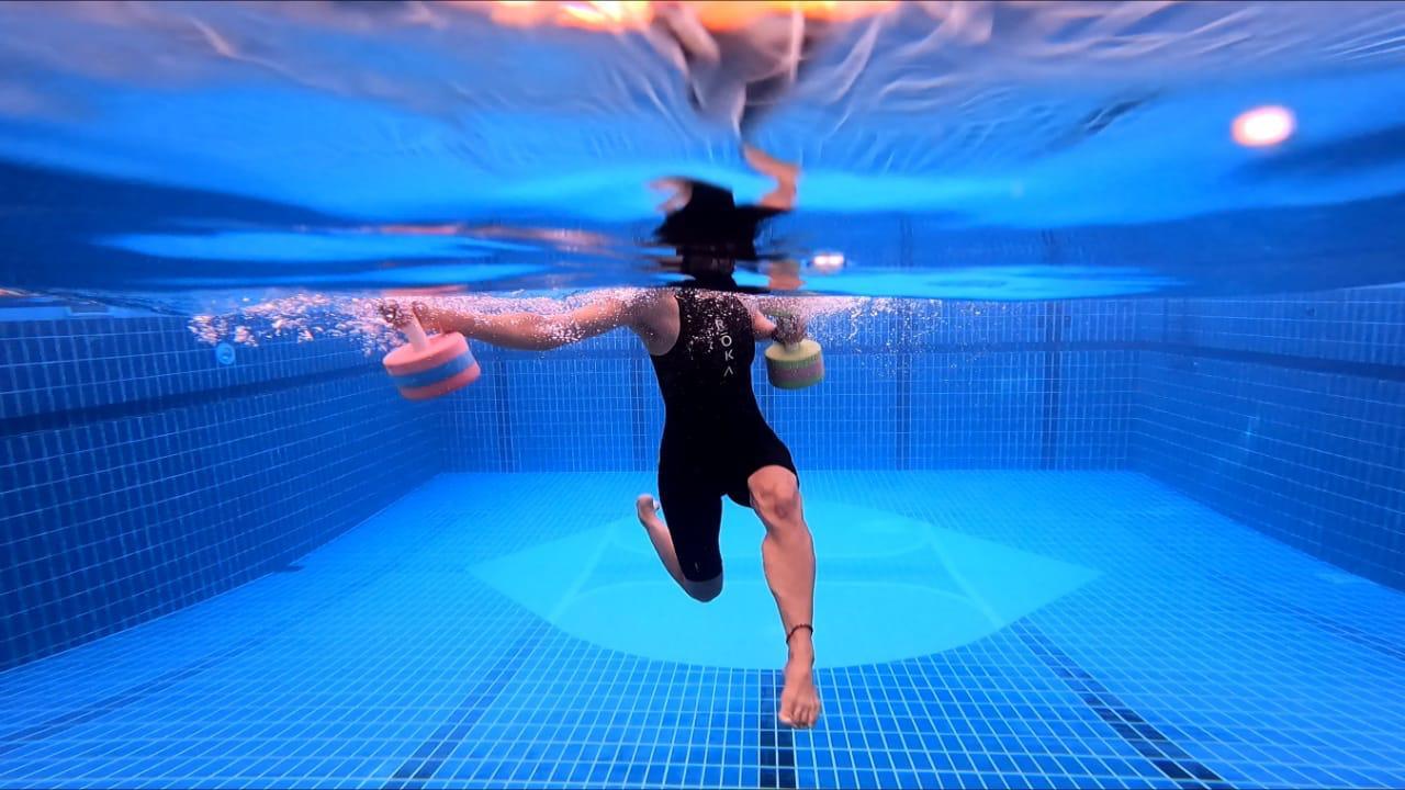 Vertical Water Training with BritSwim