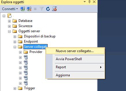 Come collegarsi a Mysql da Sql Server