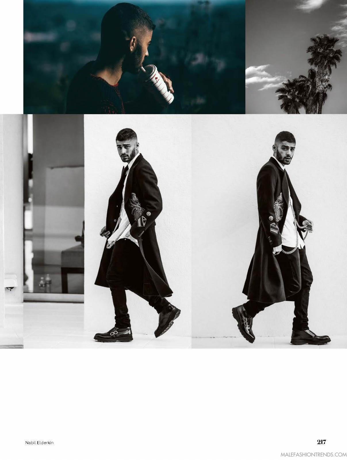 Zayn Malik en portada de ELLE UK Septiembre 2016 - Male