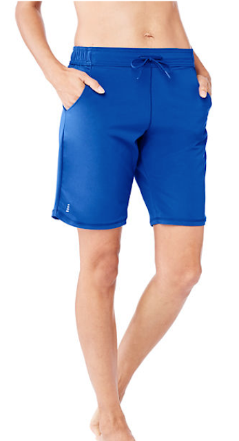 Lands End Board Shorts for Paddle and Beach Sports and Workouts