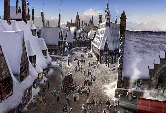 Hogwarts chega ao Universal Studios Hollywood em abril