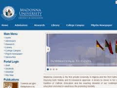 Madonna University  Cut-off mark 2016/2017