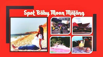 spot baby moon di malang