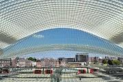Santiago Calatrava: la stazione TGV di Liegi, Belgio