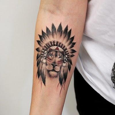 Tatuajes de leones pequeños super lindos