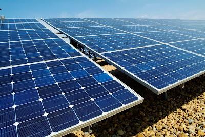 paineis módulos fotovoltaicos interligados