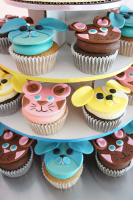 Dog and Cat Cupcakes for Warner Bros.