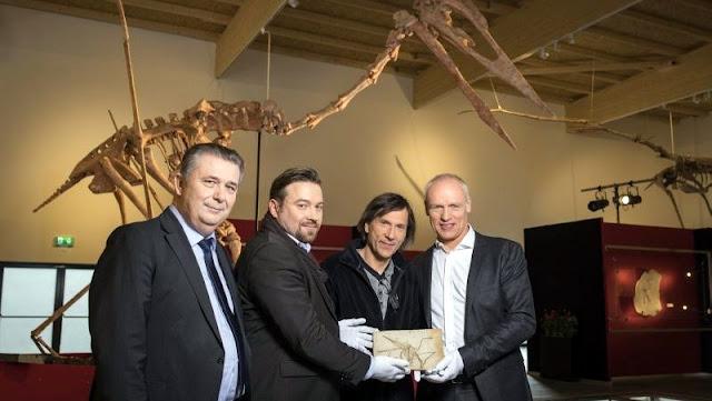 El Museo de Dinosaurios de Altmuehltal expone un Drácula auténtico