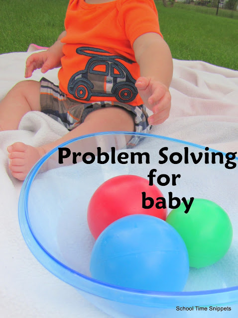 simple baby play for sitting babies