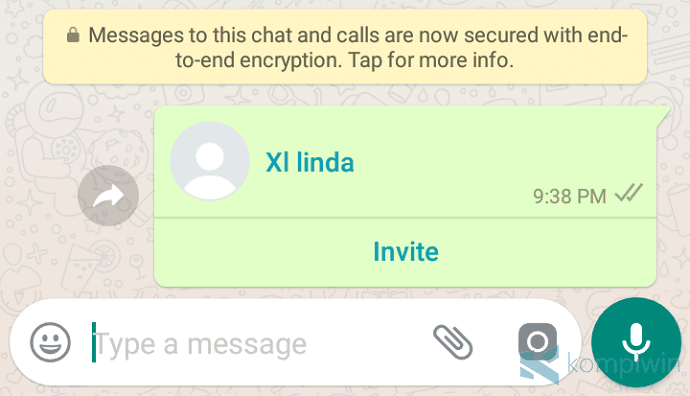 cara mengirim share kontak nomor wa