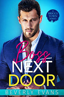 Boss Next Door - contemporary romance by Beverly Evans