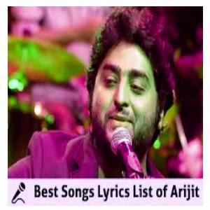 Lyrical: Arijit Singh all new song lyrics 2020 with audio download