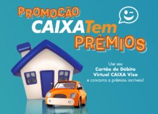 Cadastrar Promoção Caixa Tem Prêmios VISA
