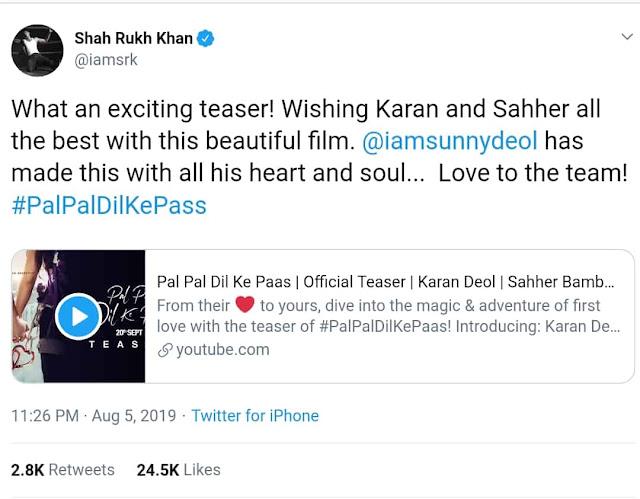 Pal Pal Dil Ke Paas Movie 2019 - Karan Deol Son of Sunny Deol