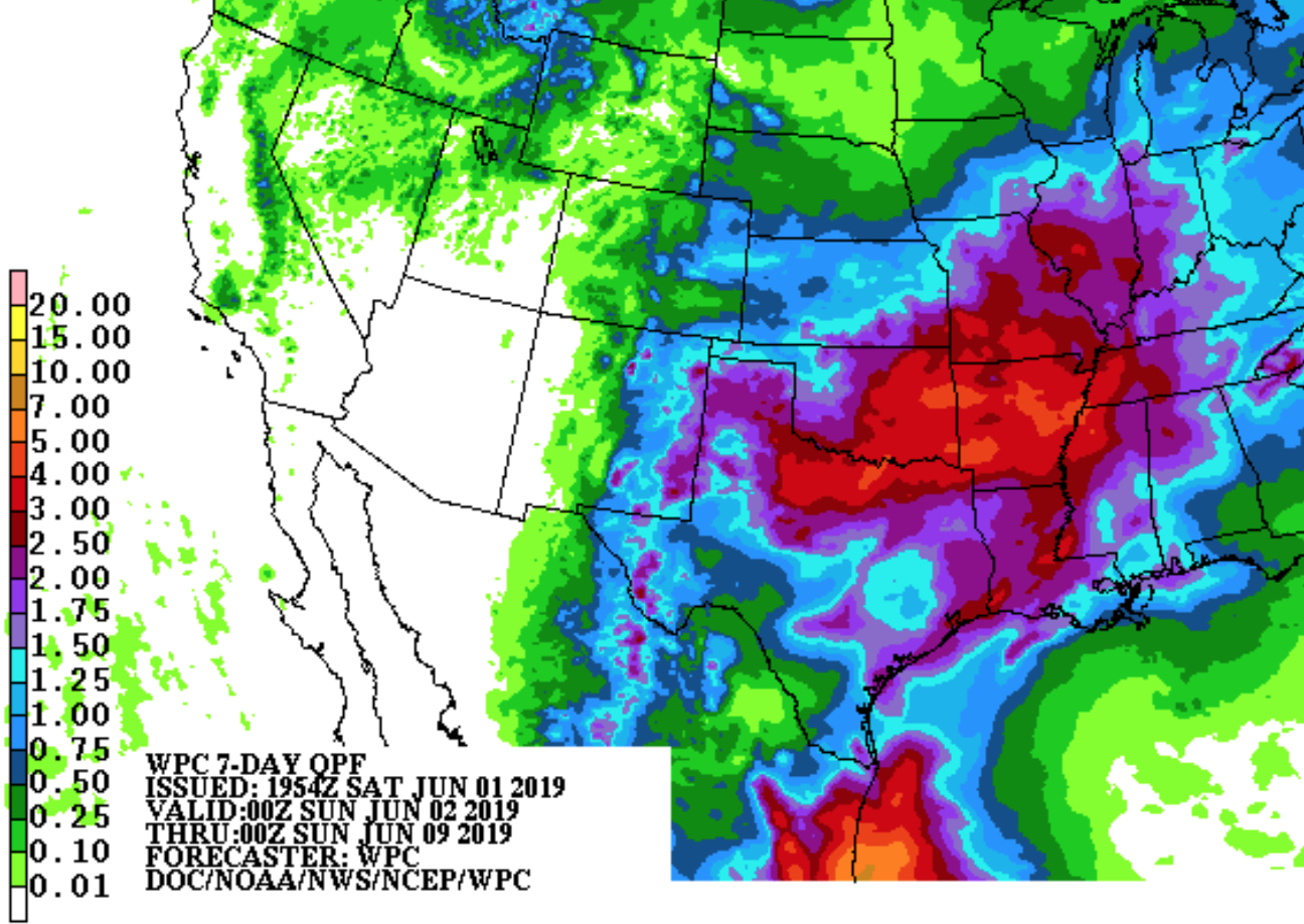 Wpc Consulting Mse Creative Consulting Blog Seven Day Rainfall Forecast