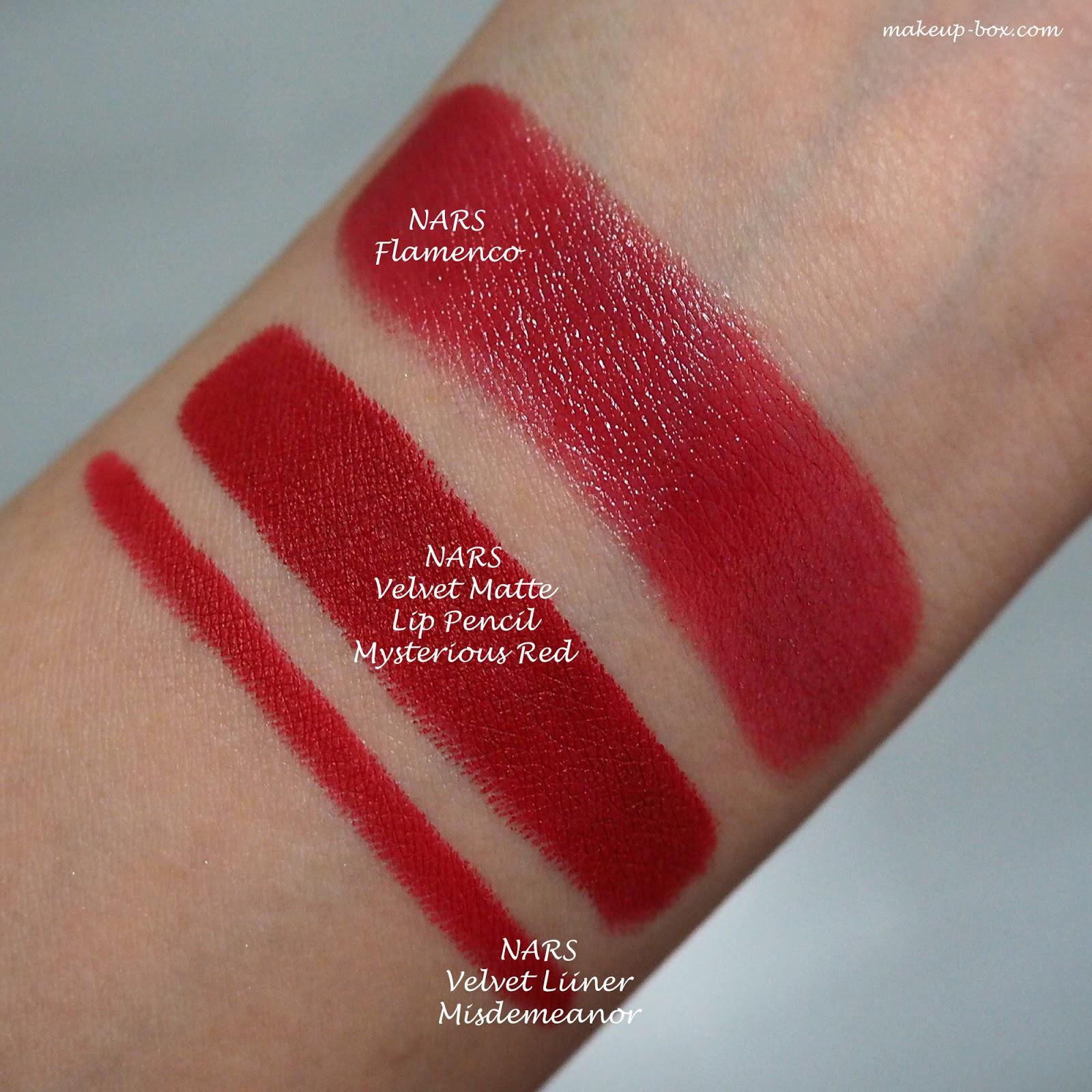 Nars Velvet Matte Lip Pencil The Makeup Box: Some N...