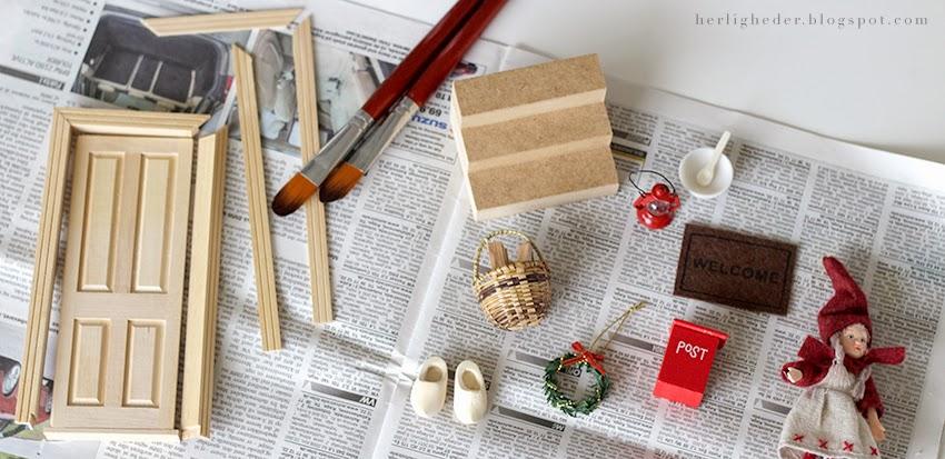Frisk frugt Juleforberedelser i september / Nissedør | Sirlig AF77