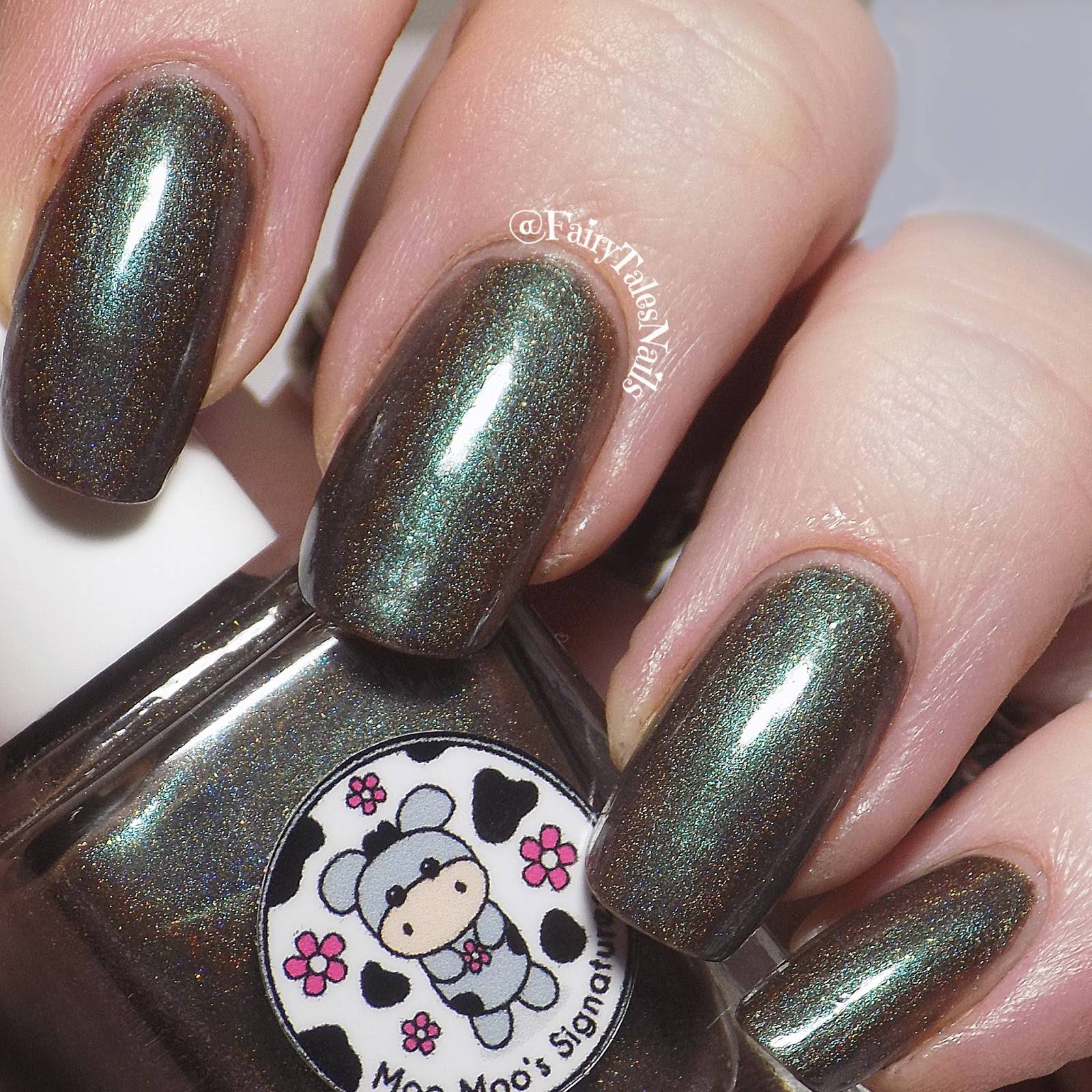 FairyTales Nails: New To Me Brand Moo Moo\'s Signatures Swatch & Review