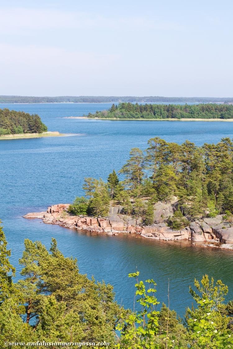 Ahvenanmaa meri Åland sjön