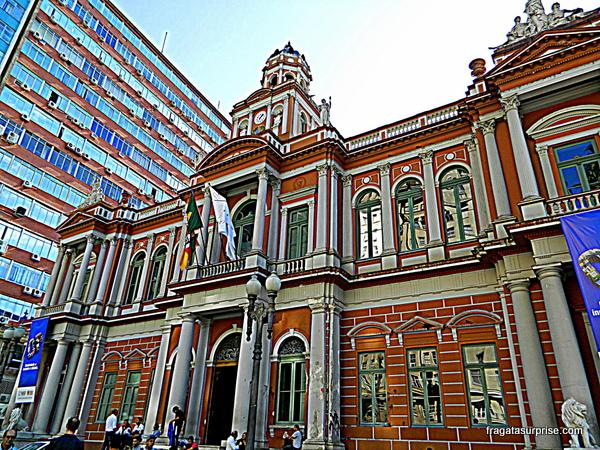 """Paço dos Açorianos, ou """"Prefeitura Velha"""" de Porto Alegre"""