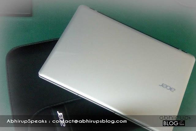Technology Review byTiyasha - Acer Aspire V5-123, 11.5' notebook Top Design & look