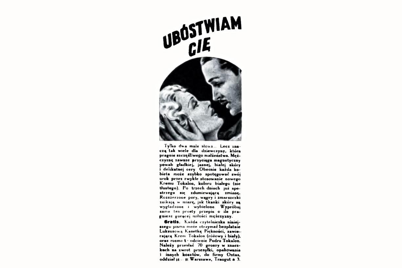 reklama prasowa, 1935