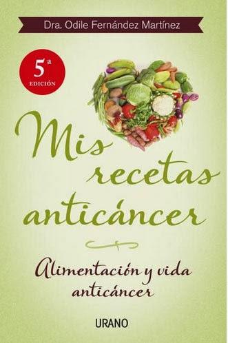 Libro mis recetas anticancer