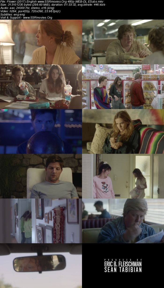 Flower (2017) English 480p WEB-DL 300MB