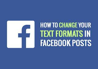 cara membuat tulisan tebal miring garis bawah di fb facebook